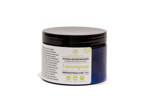 lemongrass bathroom scrub | organic | natural | Nezza Naturals