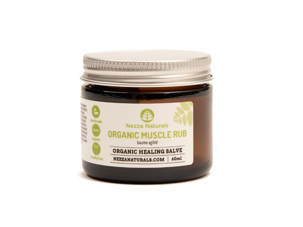 organic muscle rub | organic | natural | Nezza Naturals
