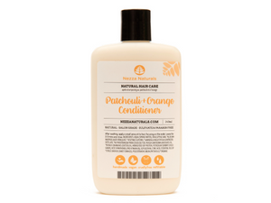 patchouli & orange conditioner | organic | natural | Nezza Natural