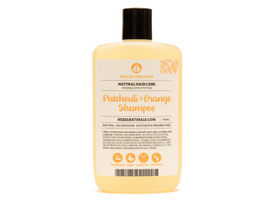 patchouli & orange shampoo | organic | natural | Nezza Natural
