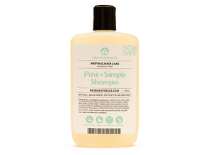 pure & simple shampoo | organic | natural | Nezza Naturals