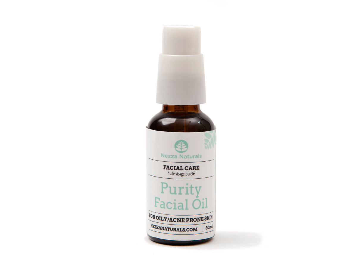 purity facial oil | organic | natural | Nezza Naturals