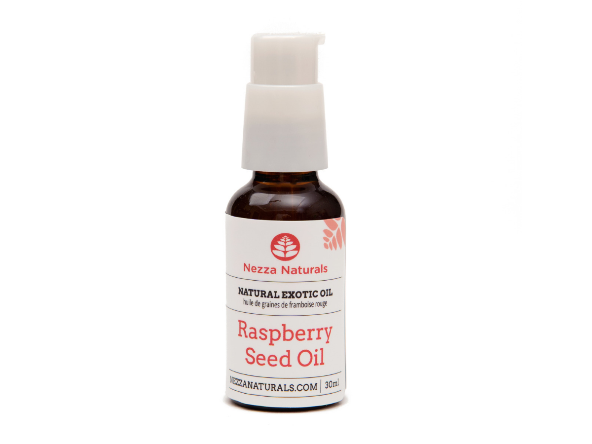 raspberry seed exotic carrier oil | organic | natural | Nezza Naturals