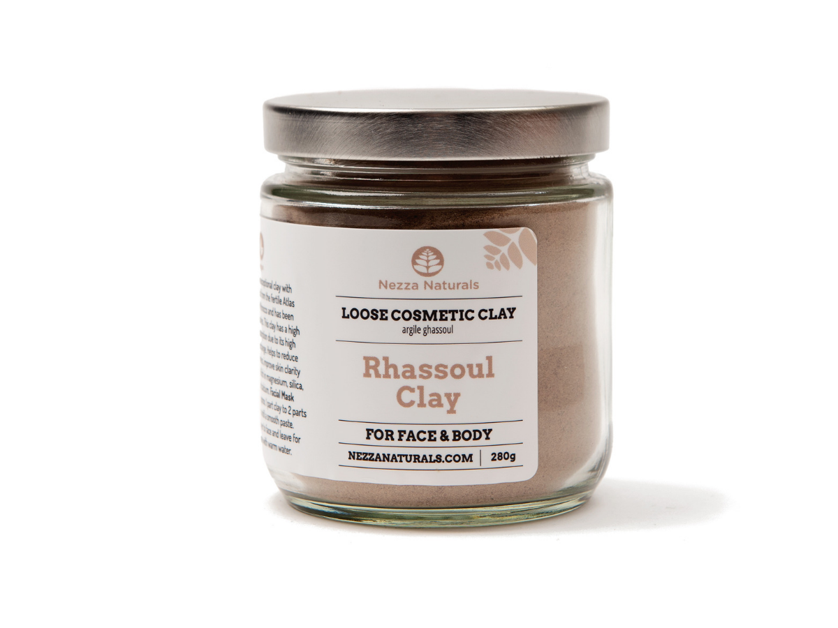rhassoul clay | organic | natural | Nezza Naturals