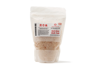 rich rose bath salts | organic | natural | Nezza Naturals