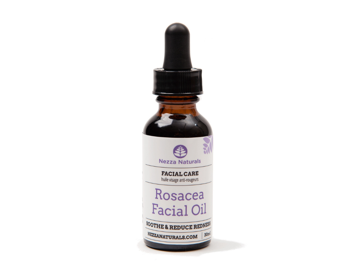 rosacea facial oil | organic | natural | Nezza Naturals