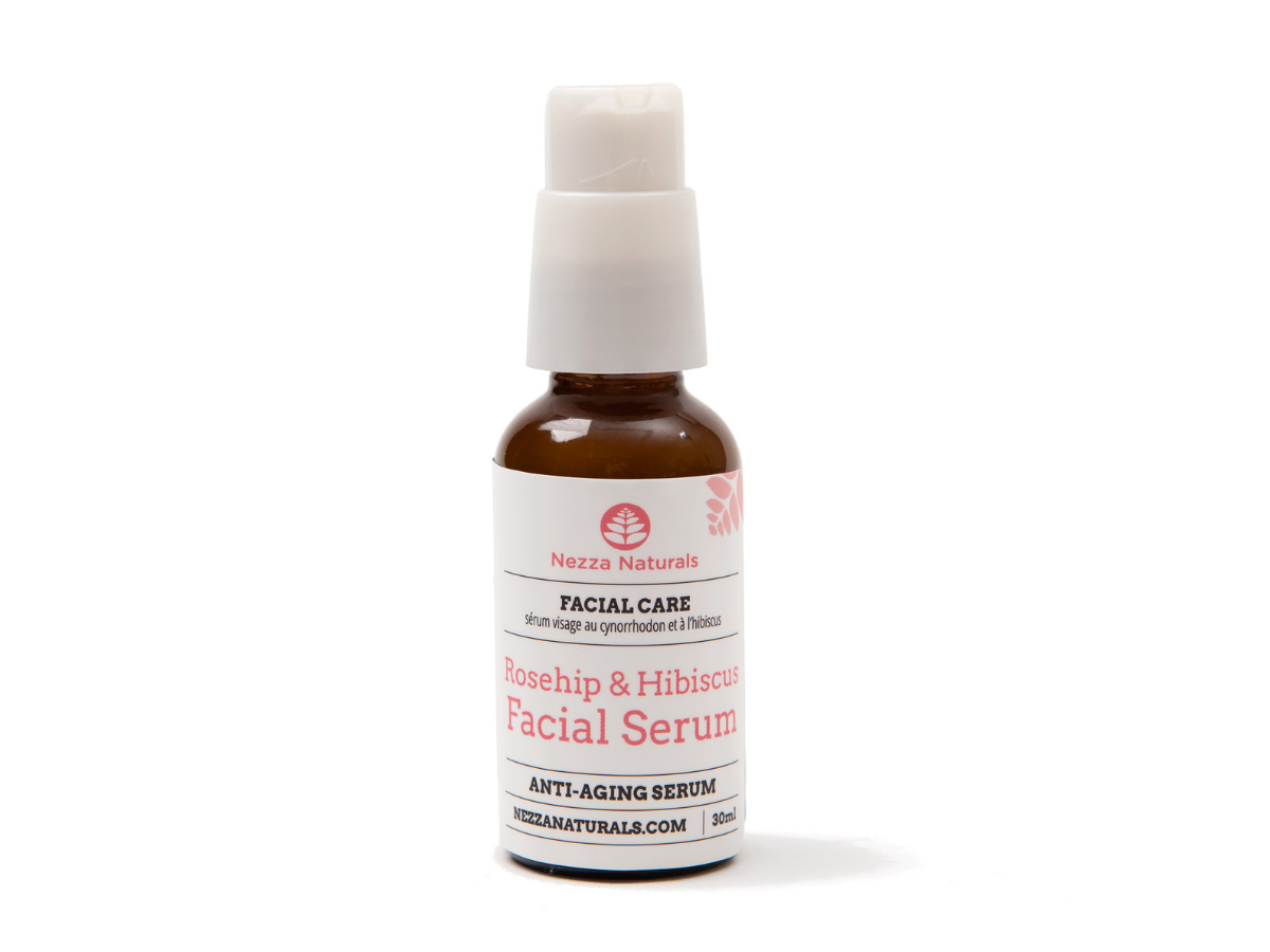 rosehip & hibiscus facial serum | organic | natural | Nezza Naturals
