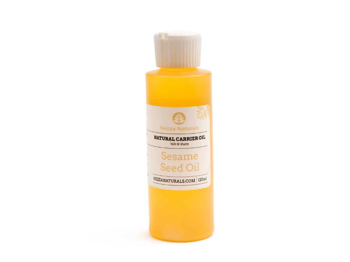 sesame seed carrier oil | organic | natural | Nezza Naturals