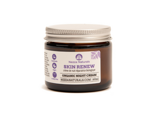 skin renew facial cream | organic | natural | Nezza Naturals