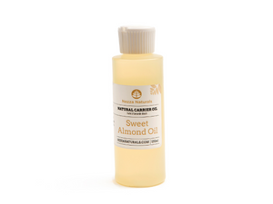 sweet almond carrier oil | organic | natural | Nezza Naturals