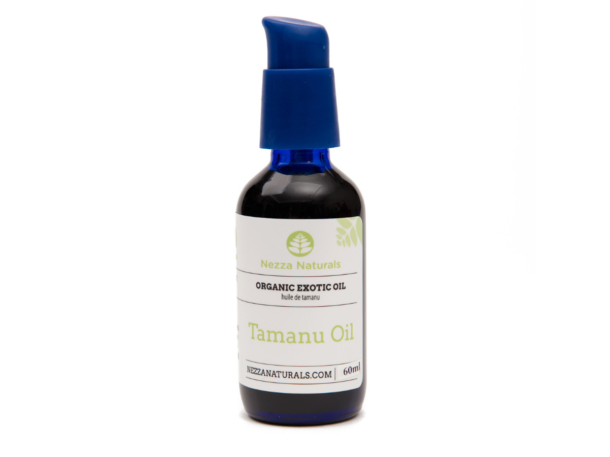 tamanu exotic carrier oil | organic | natural | Nezza Naturals