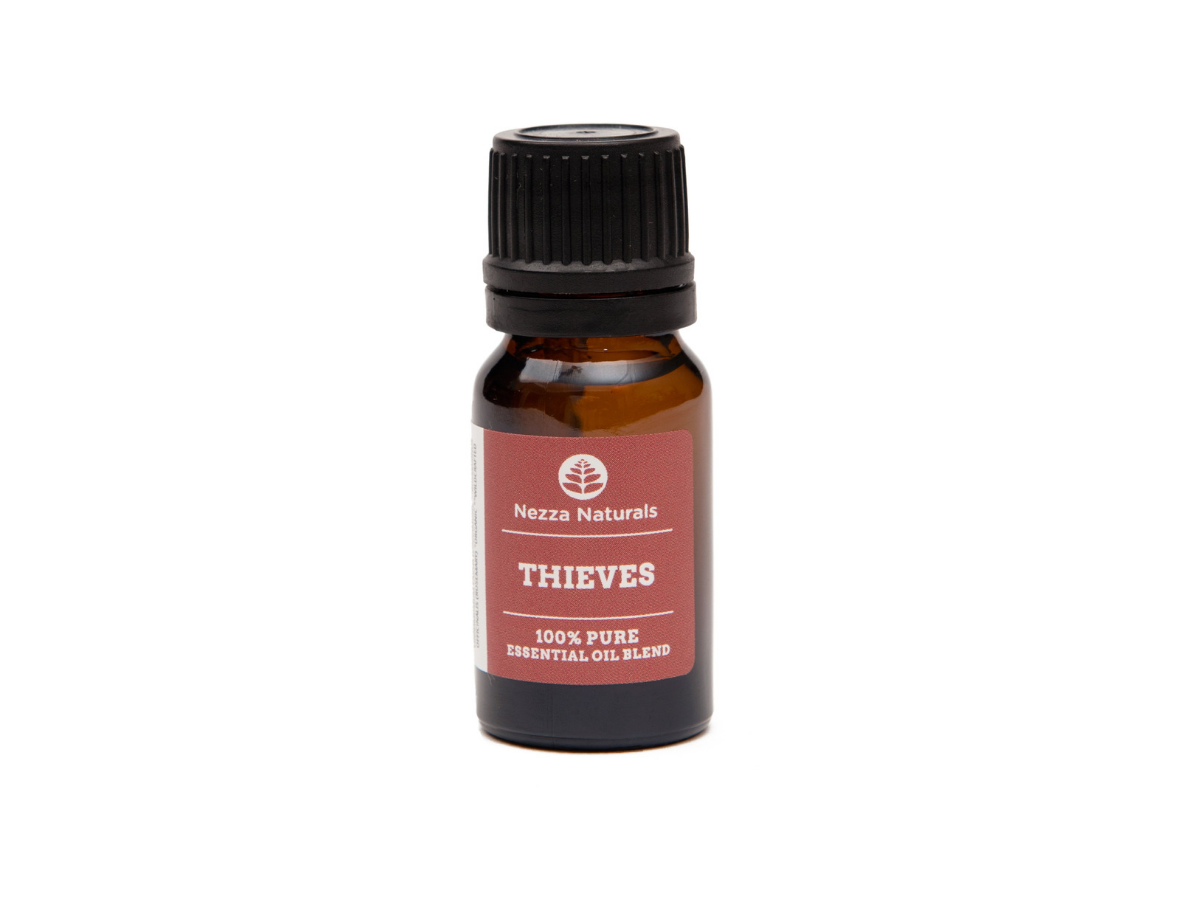 thieves essential oil blend | organic | natural | Nezza Naturals