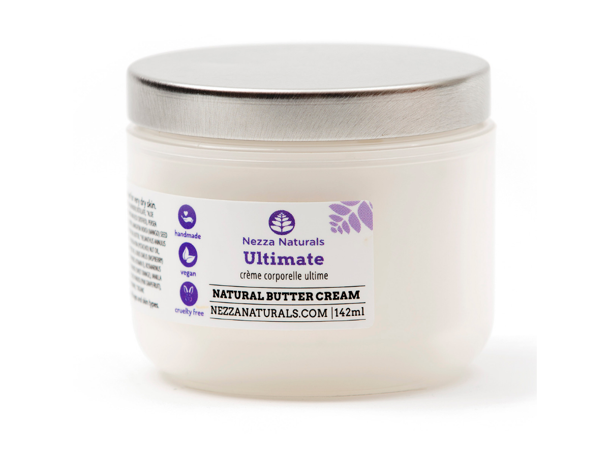 ultimate body butter cream | organic | natural | Nezza Naturals