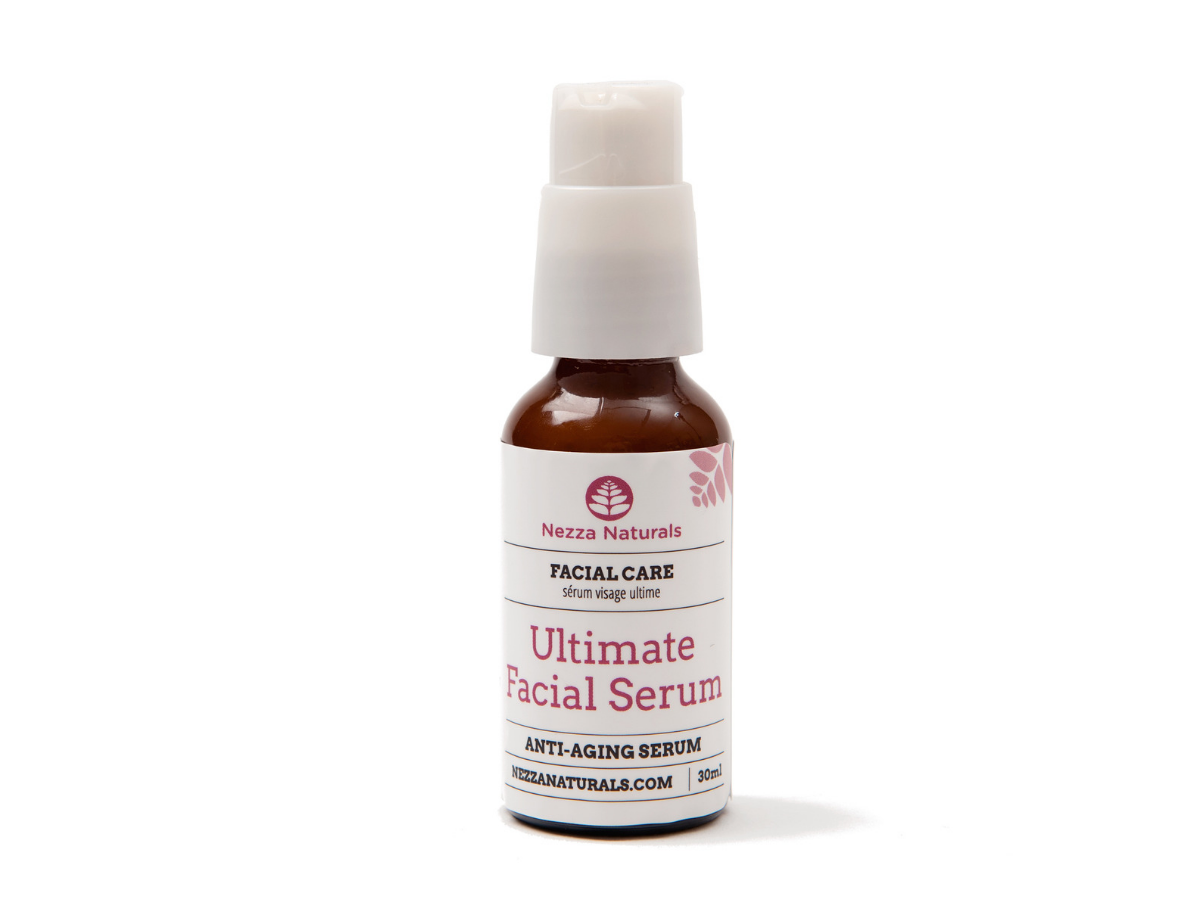 ultimate facial serum | organic | natural | Nezza Naturals