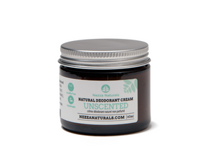 unscented deodorant cream | organic | natural | Nezza Naturals