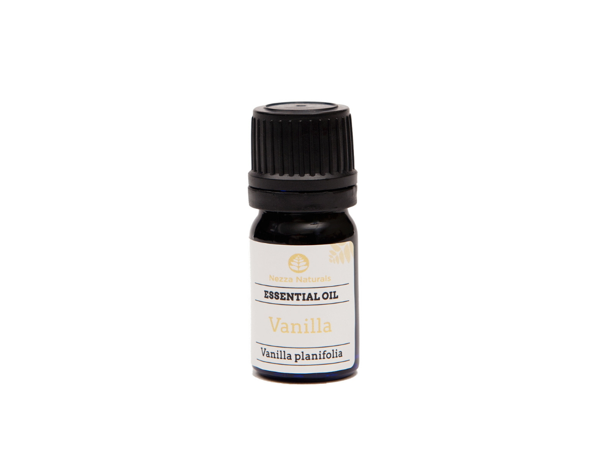 vanilla essential oil | organic | natural | Nezza Naturals