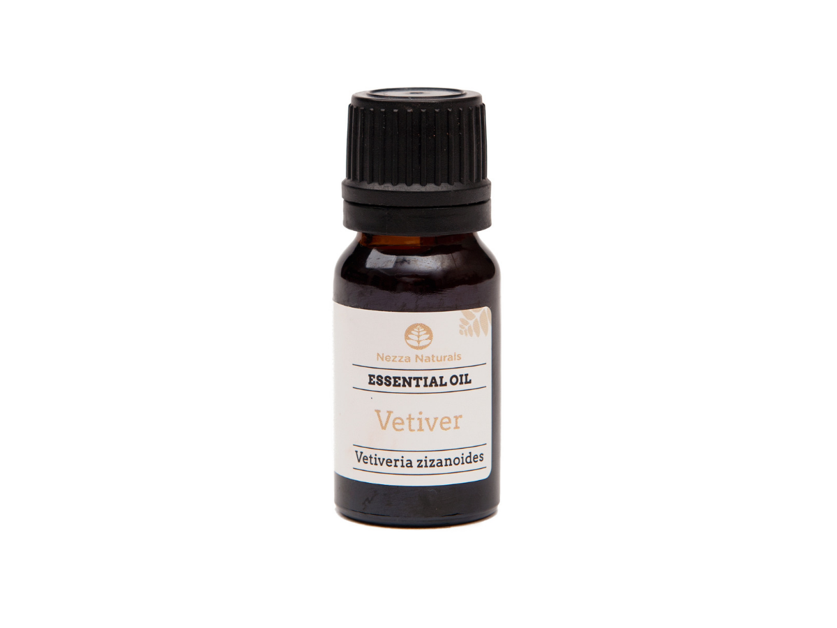 vetiver essential oil | organic | natural | Nezza Naturals