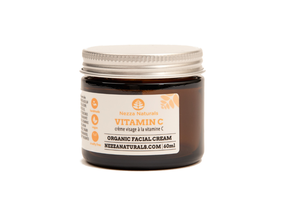 vitamin C facial cream | organic | natural | Nezza Naturals