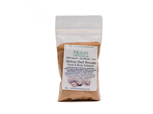 walnut shell powder | organic | natural | Nezza Naturals