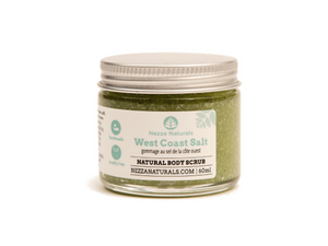 west coast salt scrub | organic | natural | Nezza Naturals