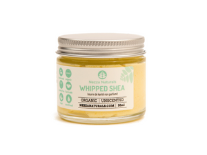 whipped shea butter | organic | natural | Nezza Naturals