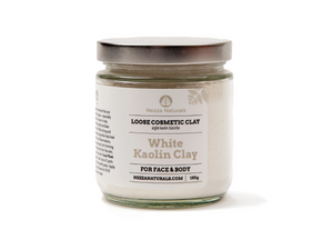 white kaolin clay | organic | natural | Nezza Naturals