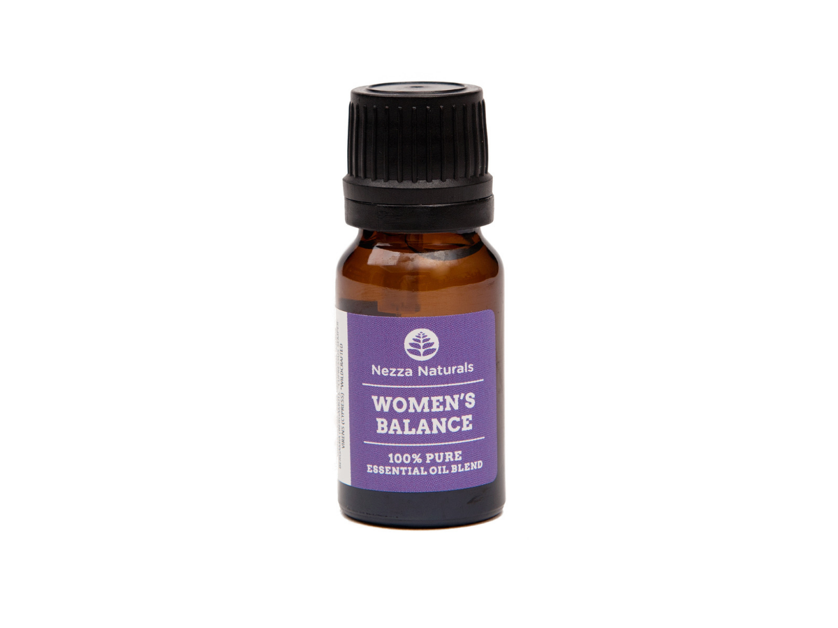 woman's balance essential oil blend | organic | natural | Nezza Naturals