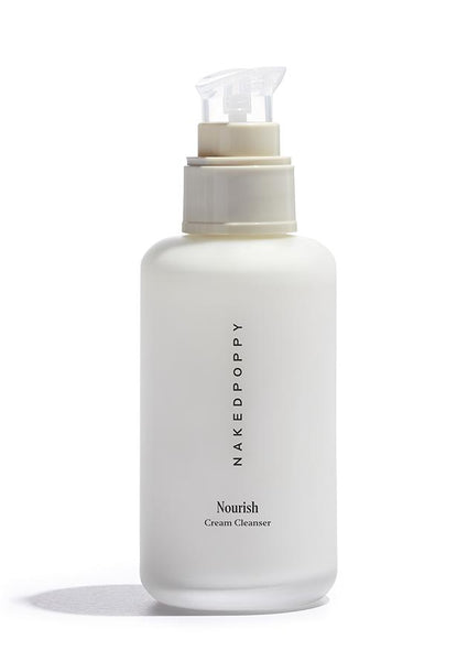 NakedPoppy - Nourish Cream Cleanser - NakedPoppy