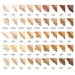 Satin Matte Foundation – Warm 9