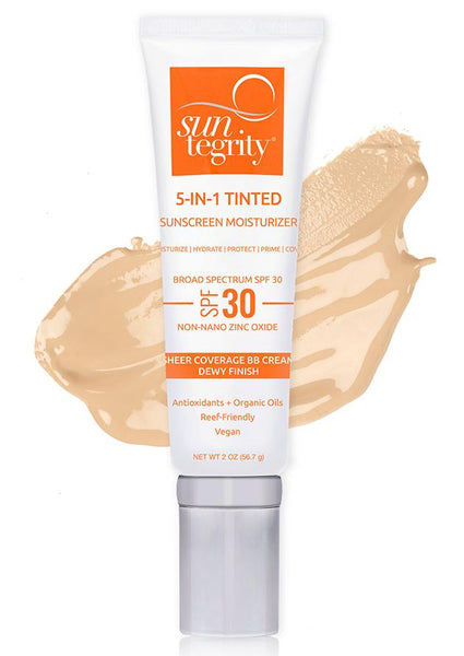 Suntegrity - Tinted Moisturizer with SPF 30 – Light - NakedPoppy