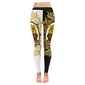 A4 ROYALTY EMPRESS LEGGINGS BW