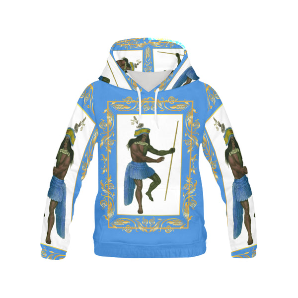 A4 California Indian Women's Hoodie