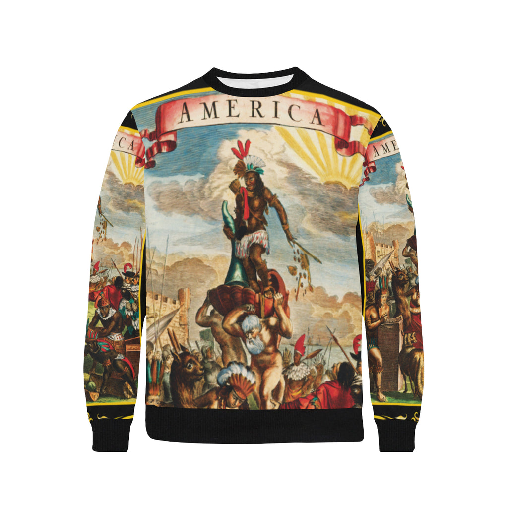 America Exclusive Sweatshirt Black