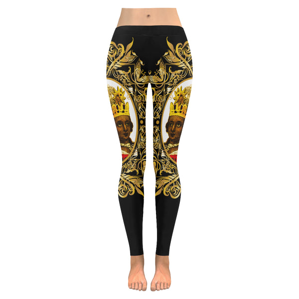 A4 ROYALTY EMPRESS LEGGINGS BLACK