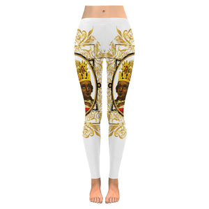 A4 ROYALTY EMPRESS LEGGINGS WHITE