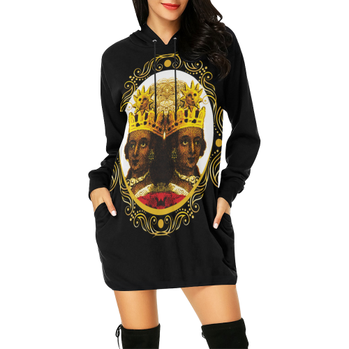 A4 ROYALTY EMPRESS Hooded Mini Dress