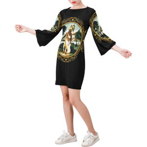 A4-2 Bell Sleeve Dress