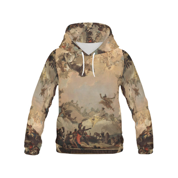 A4 Allegory of the Planets and Continents Men's Hoodie