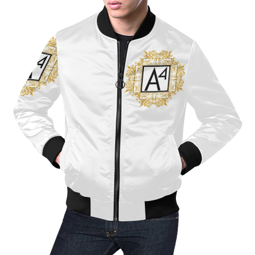 A4-Bomber Jacket for Men/Large