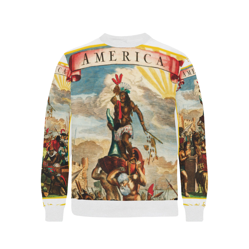 America Exclusive Sweatshirt White