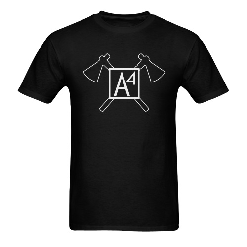 A4 Tomahawks BW Men's T-shirt