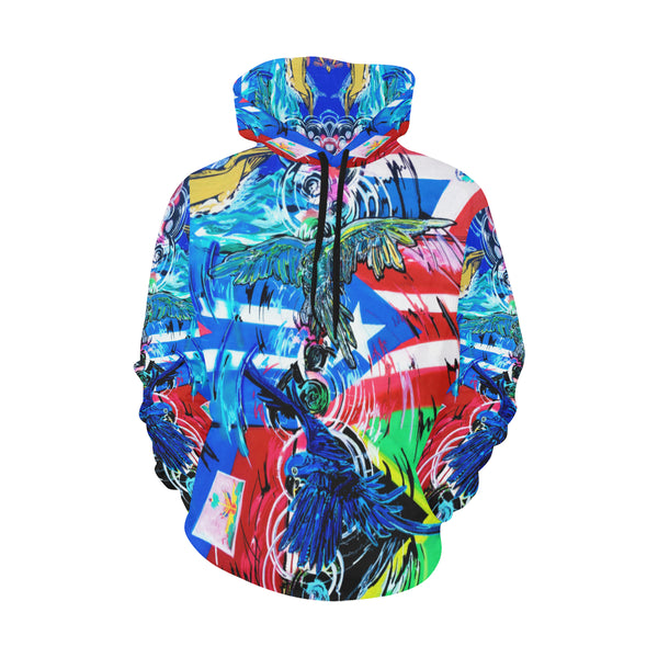 Reflections Hoodie All Over Print Hoodie (for Men)