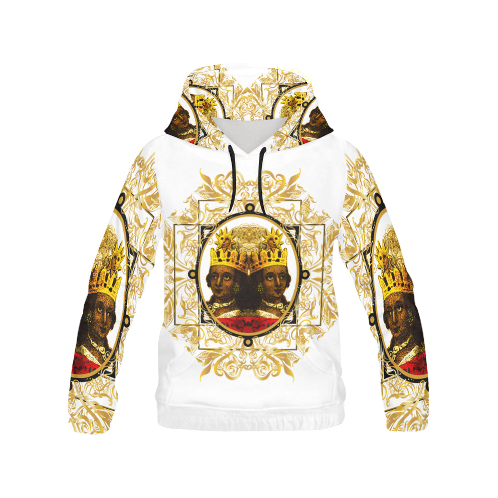 A4 ROYALTY EMPRESS WHITE HOODIE
