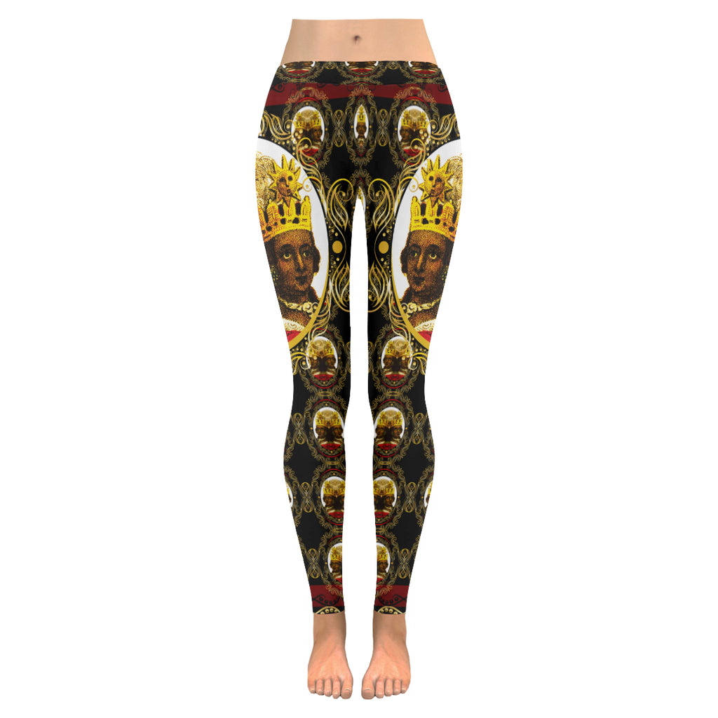 A4 ROYALTY EMPRESS LEGGINGS BIG FACE