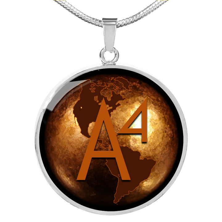 A4-GLOBE-3 Necklace