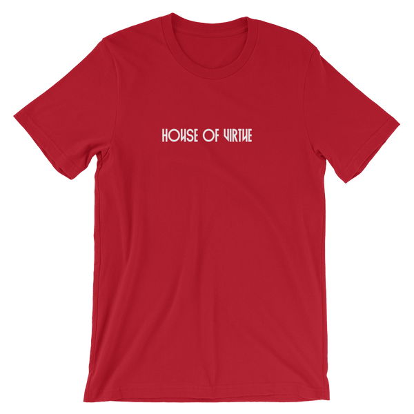 Red Logo Men's T-Shirt - HOV Series - House of Virtue