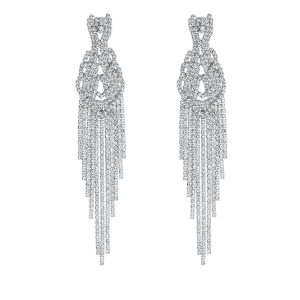 Glitz, Glam, Heart Earrings - House of Virtue