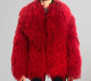 So Extra Natural Fur Coat - House of Virtue