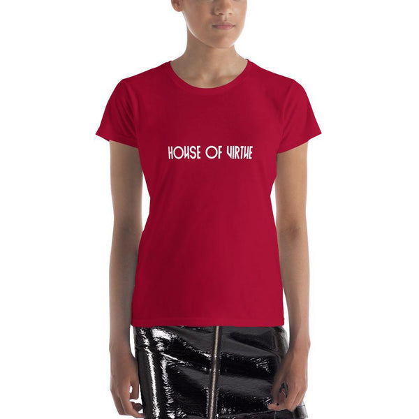 Red Logo Women's T-Shirt - HOV Series I - House of Virtue