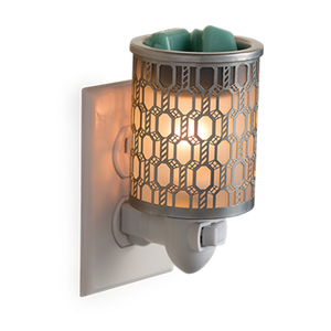 'Silver Filligree' Plug In Fragrance Melter